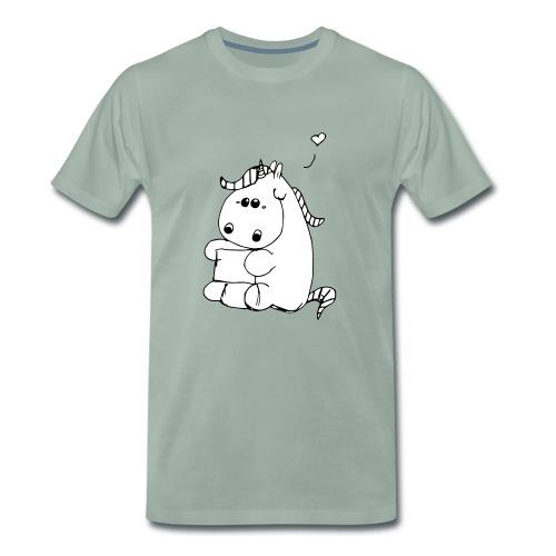 Pummeliges Einhorn - Männer Premium T-Shirt