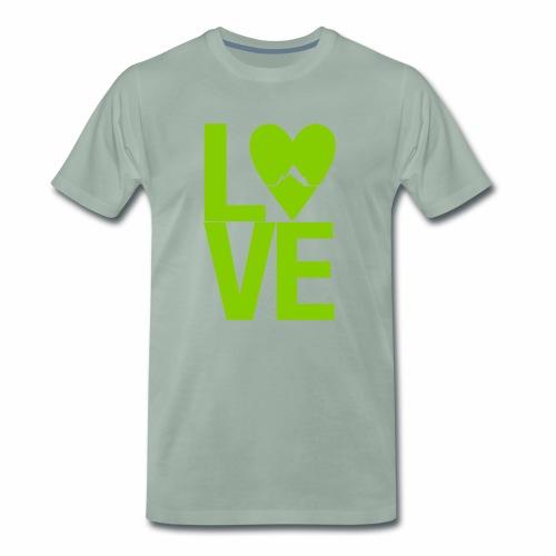 Mountain Love - Männer Premium T-Shirt