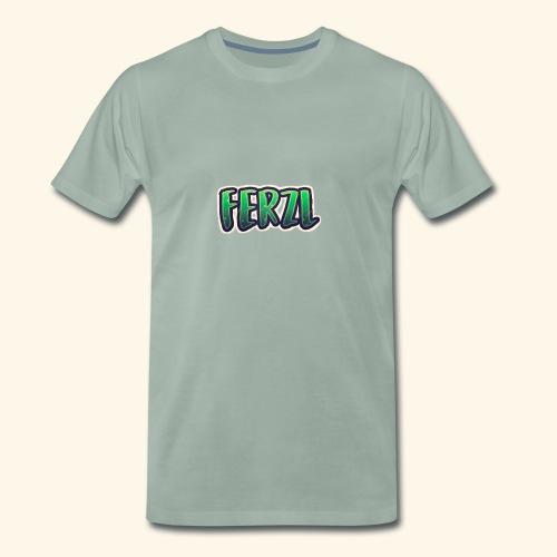 Ferzl Logo - Premium T-skjorte for menn