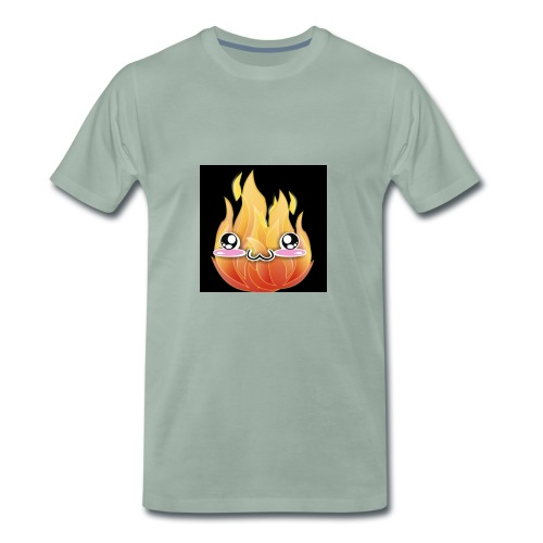 FireDotLess Original logo - Men's Premium T-Shirt