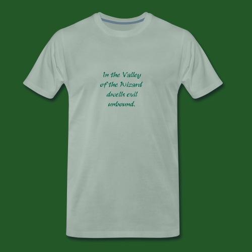 In_Valley_of_the_Wizard-png - Men's Premium T-Shirt