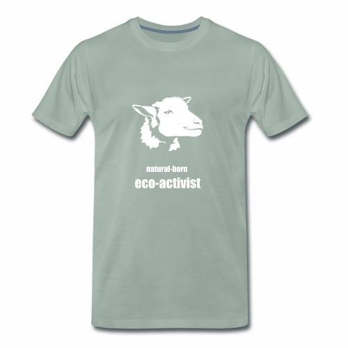 natural-born eco-activist - Männer Premium T-Shirt