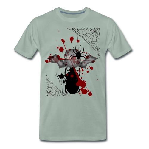 cooles halloween motiv - Männer Premium T-Shirt