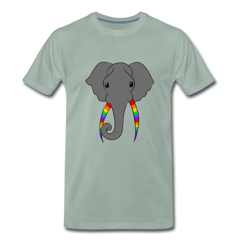 Pride Elephant - Men's Premium T-Shirt