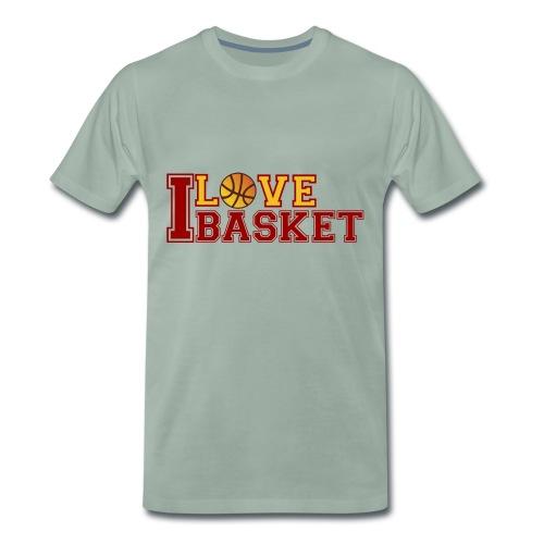 Love-Basketball - Männer Premium T-Shirt