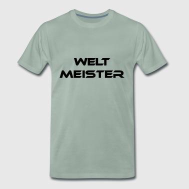 maailmanmestari - Miesten premium t-paita