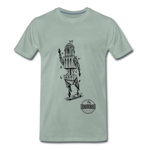 ZWOLLE 038 rattatattoo zwolle perperbus - Mannen Premium T-shirt