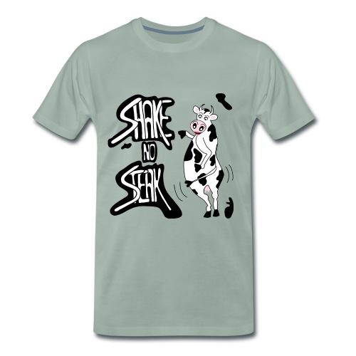 Shake no steak - Premium-T-shirt herr