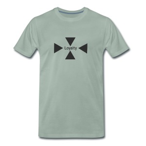 Loyalty logo big - Men's Premium T-Shirt