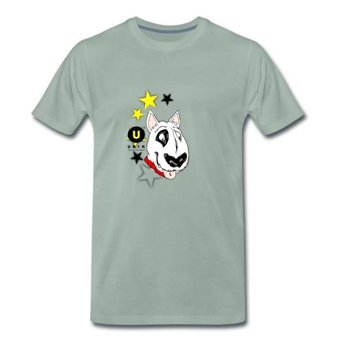 UNIK BULL TERRIER - Maglietta Premium da uomo