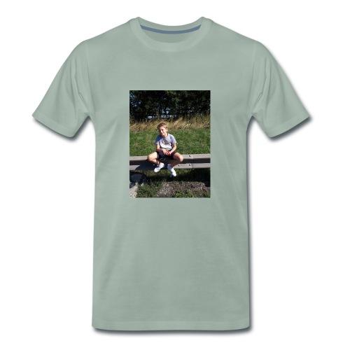 me on motorway - Men's Premium T-Shirt