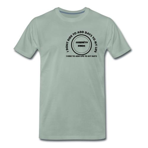 Serenity Crew Rider Quote - Men's Premium T-Shirt