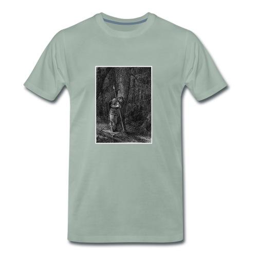 Lonely Warrior - Männer Premium T-Shirt