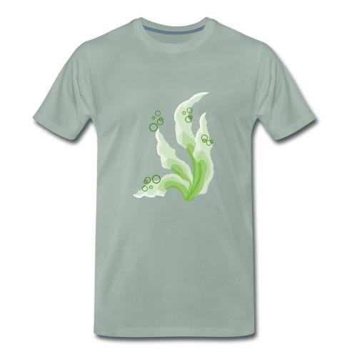 pennelli acquerello verde - Maglietta Premium da uomo