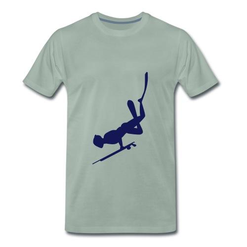 Chasseur sous-marin - T-shirt Premium Homme