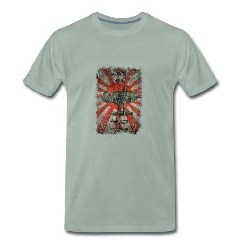 Zero A6M Kamikaze - T-shirt Premium Homme