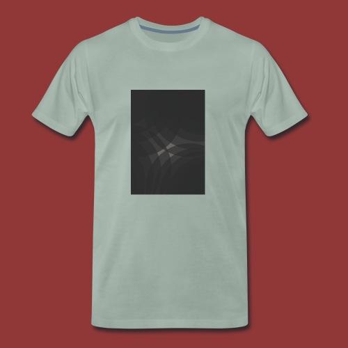 shwartz - Männer Premium T-Shirt