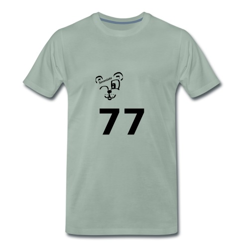 77 for the win - Männer Premium T-Shirt