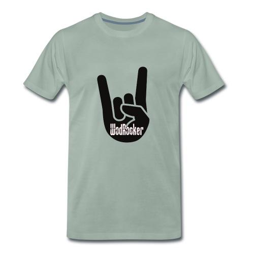 wodrocker Rock out Logo - Men's Premium T-Shirt