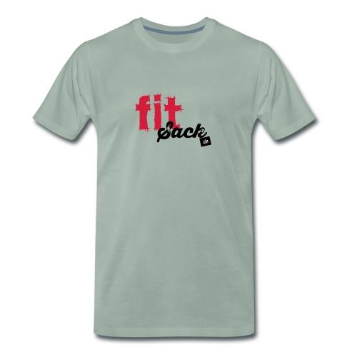 fitsack Schriftzug - Männer Premium T-Shirt
