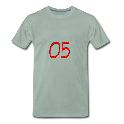 05 nummer - Männer Premium T-Shirt