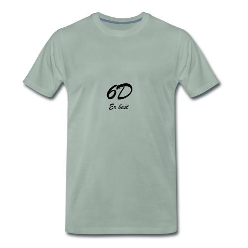 6D Er best - Premium T-skjorte for menn