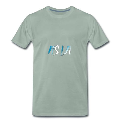It's Lit (Ice Text) - Premium T-skjorte for menn