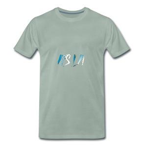 It's Lit (Ice Text) - Premium T-skjorte for menn