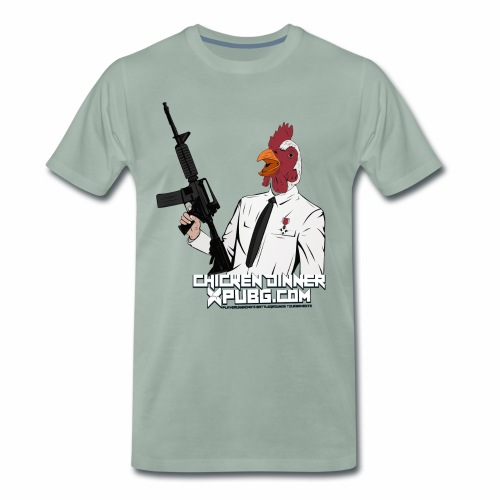 XPuBG Winner winner chicken dinner! - Men's Premium T-Shirt