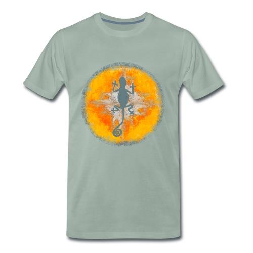 ibiza Gecko in der Sonne - Männer Premium T-Shirt