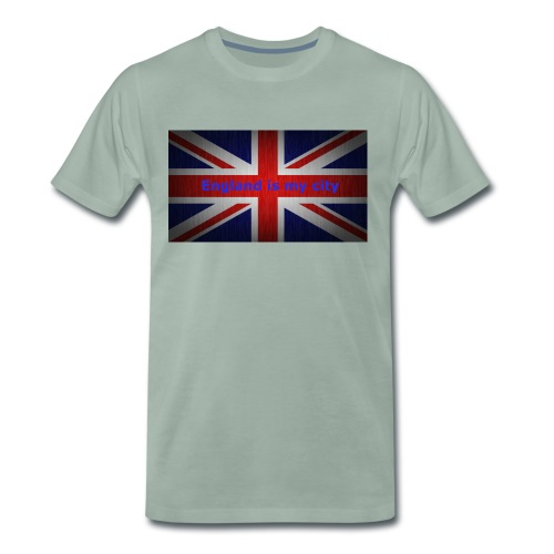 England is my city t shirt - Mannen Premium T-shirt