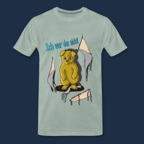 Unschuldiges Hundebaby - Männer Premium T-Shirt