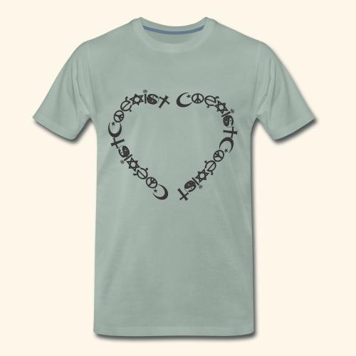 Coexit en coeur - T-shirt Premium Homme