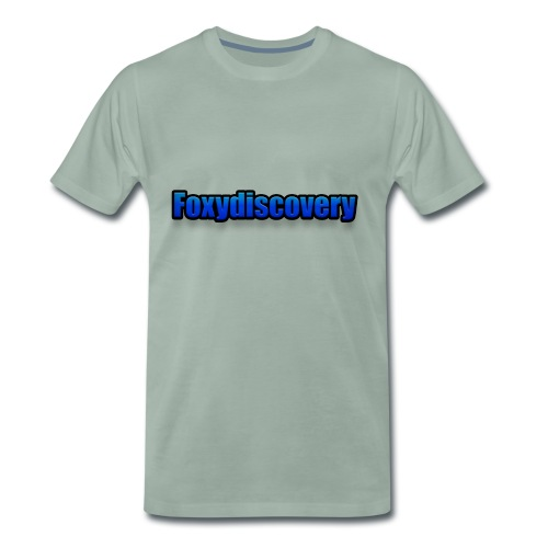 Foxydiscovery texst - Mannen Premium T-shirt
