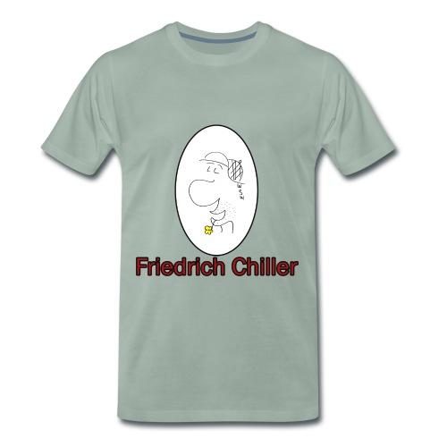 Friedrich Chiller - Männer Premium T-Shirt