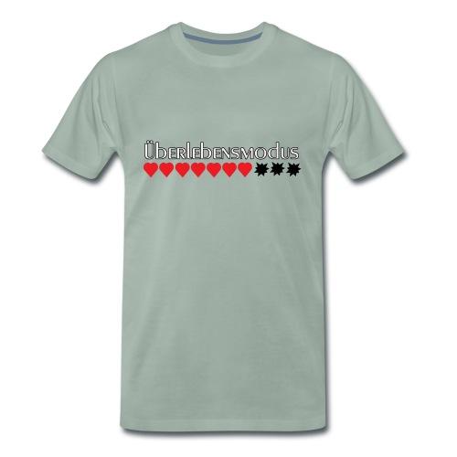 Überlebensmodus - wenn die Energie begrenzt ist - Männer Premium T-Shirt