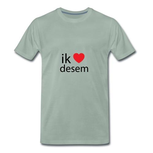 ik houd van desem - Mannen Premium T-shirt