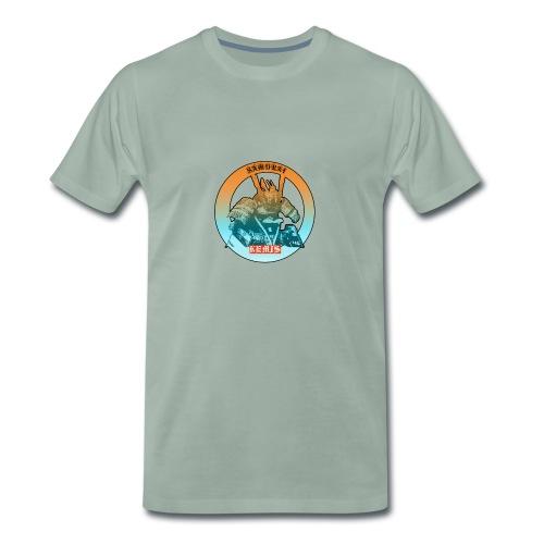 samurai t shirt - Maglietta Premium da uomo