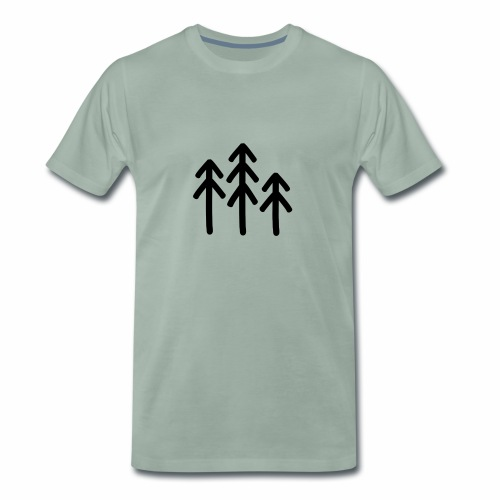 RIDE.company - just trees - Männer Premium T-Shirt