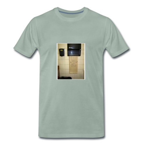 Stuck in the paperholder - Premium-T-shirt herr