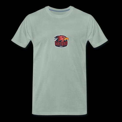 Sektion9 logo Rot - Männer Premium T-Shirt