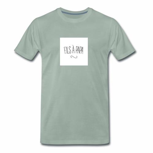 fils a papa jpg - T-shirt Premium Homme