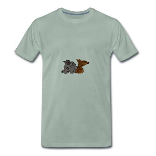 Ein unschlagbares Team - Männer Premium T-Shirt