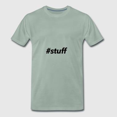#stuff - Koszulka męska Premium