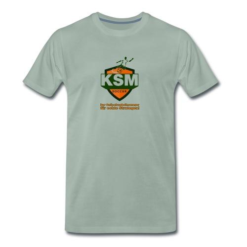 KSM-Soccer Logo - Männer Premium T-Shirt