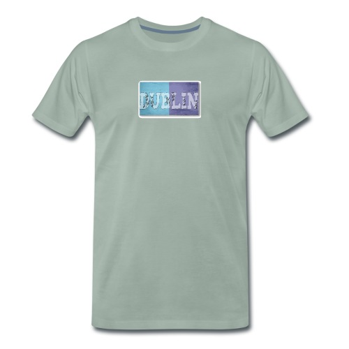Dublin Distressed Flag T-Shirt - Men's Premium T-Shirt