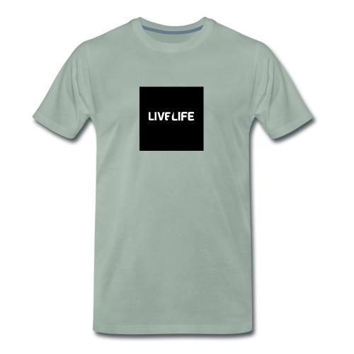 LIFE BY JONAH - Mannen Premium T-shirt