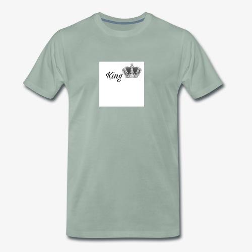 KING SHIRT👑😍 - Männer Premium T-Shirt
