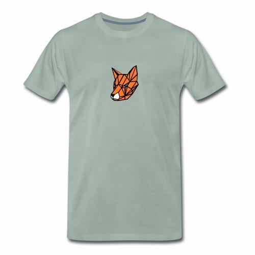 renard geometrique - T-shirt Premium Homme