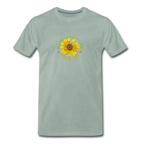Meine Sonnenblume - Männer Premium T-Shirt